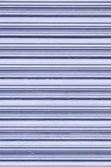 Wall blue metal