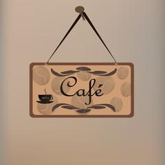 """Вывеска """"Кафе"""""""