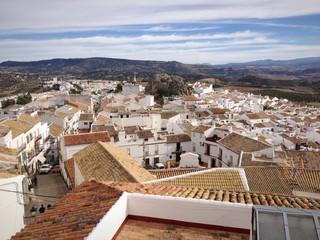 Pueblo blanco de la Sierra de Cádiz