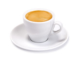 espresso cup isolated - 76221158