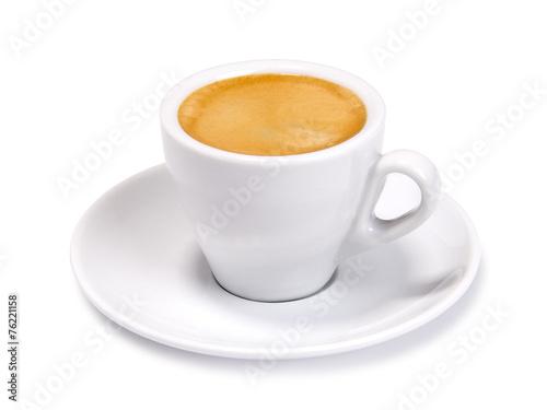 In de dag Koffie espresso cup isolated