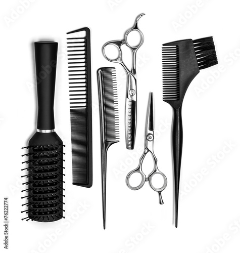 hairdresser tools - 76222774