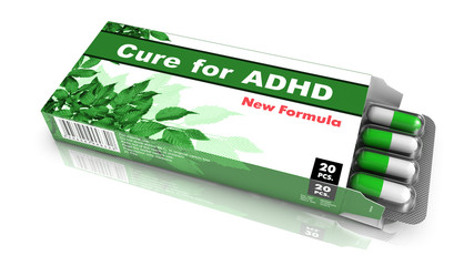 Cure for ADHD - Blister Pack Tablets.