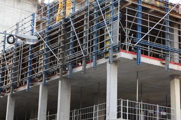 Verschalter Betonbau Wohnhaus