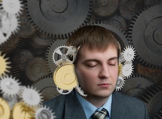 Mechanism in the head