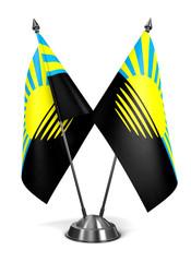 Donetsk - Miniature Flags.