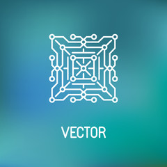 Vector technology concept