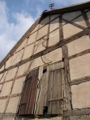 Fachwerkhaus am Hofgut Richerode bei Jesberg in Nordhessen