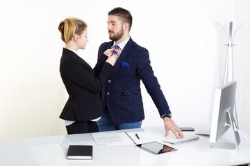 love in office