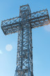 Mount Royal Cross on top of Mount Royal Montreal Quebec Canada