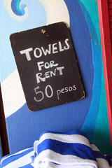 Towels for rent