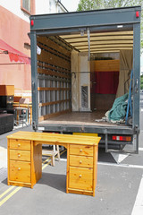 Furniture truck