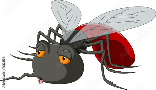 Stop Mosquito cartoon - 76228154
