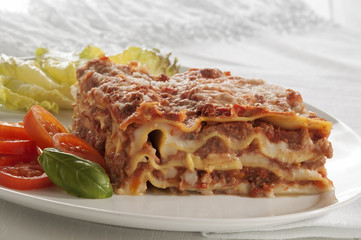 traditional italian lasagna
