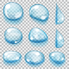 Transparent drops