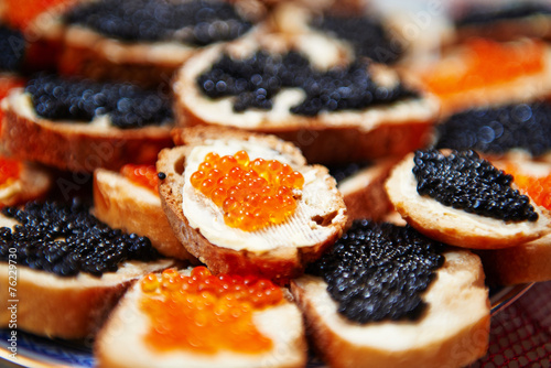 canvas print picture kaviar
