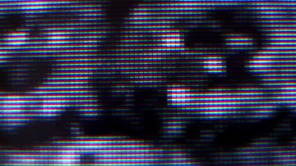 LCD TV Static Macro