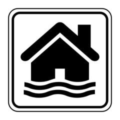Logo inondation.