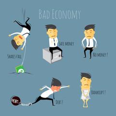 Bad economy.