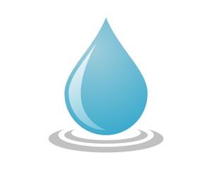 drop water logo template