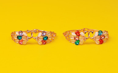 Colorful  costume jewelry ring