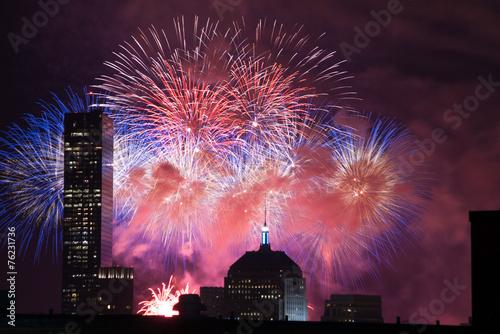 Aluminium Nacht 4th of July Fireworks