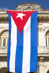 Large Cuban Flag