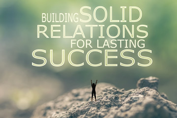 Building Solid Relations For Lasting Success
