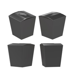 Black taper square butterfly buckle biscuit box with clipping pa