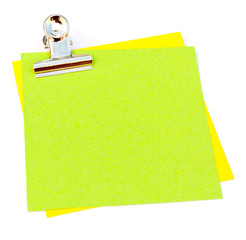 pince sur post-it