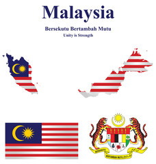 Malaysia which forms part of Borneo