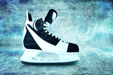 Man's hockey skates