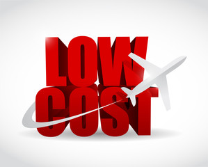 low cost airfare illustration design