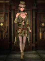 Steampunk Lady