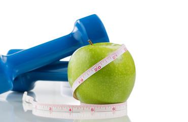 Fresh healthy apple for diet