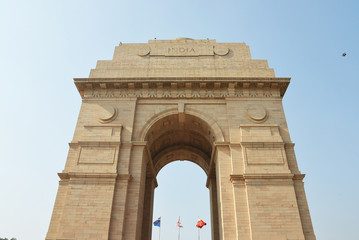 Delhi India The India Gate