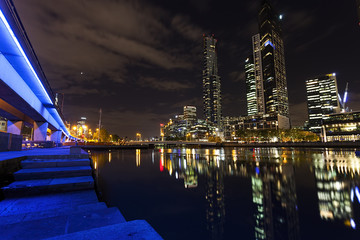 Night at Melbourne