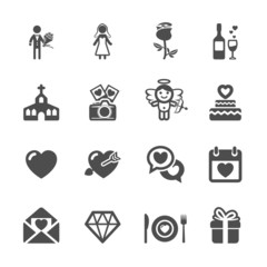 wedding icon set 2, vector eps10