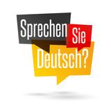 Fototapety Sprechen Sie Deutsch?