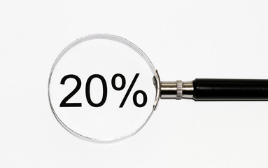 Zwanzig Prozent