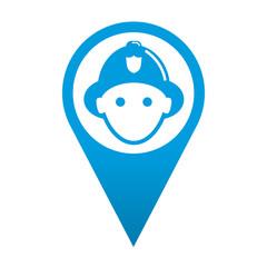 Icono localizacion bombero