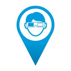 Icono localizacion espectador 3D