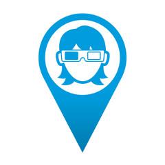 Icono localizacion espectadora 3D
