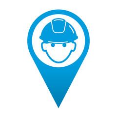 Icono localizacion obrero
