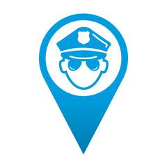 Icono localizacion policia