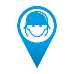 Icono localizacion soldado