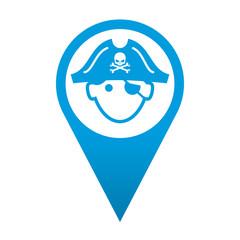 Icono localizacion pirata