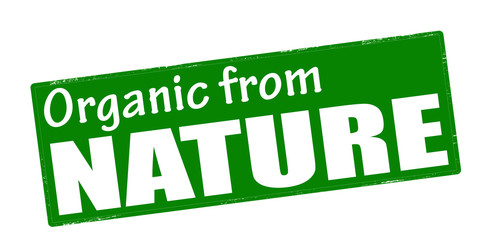 Organic from nature