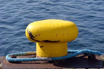yellow mooring