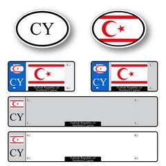 turkish republic of northern cyprus auto set